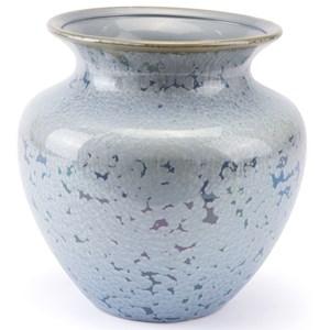Zuo Vases Crystal Blue Short Vase