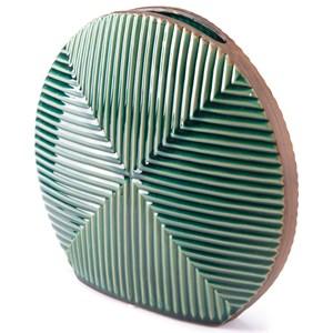 Zuo Vases Green Round Vase