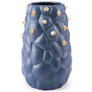 Zuo Vases Blue Cactus Vase Medium