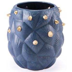 Zuo Vases Blue Cactus Vase Small