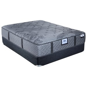 Queen Ultra Firm Pocketed Coil Mattress and Airluxe Base