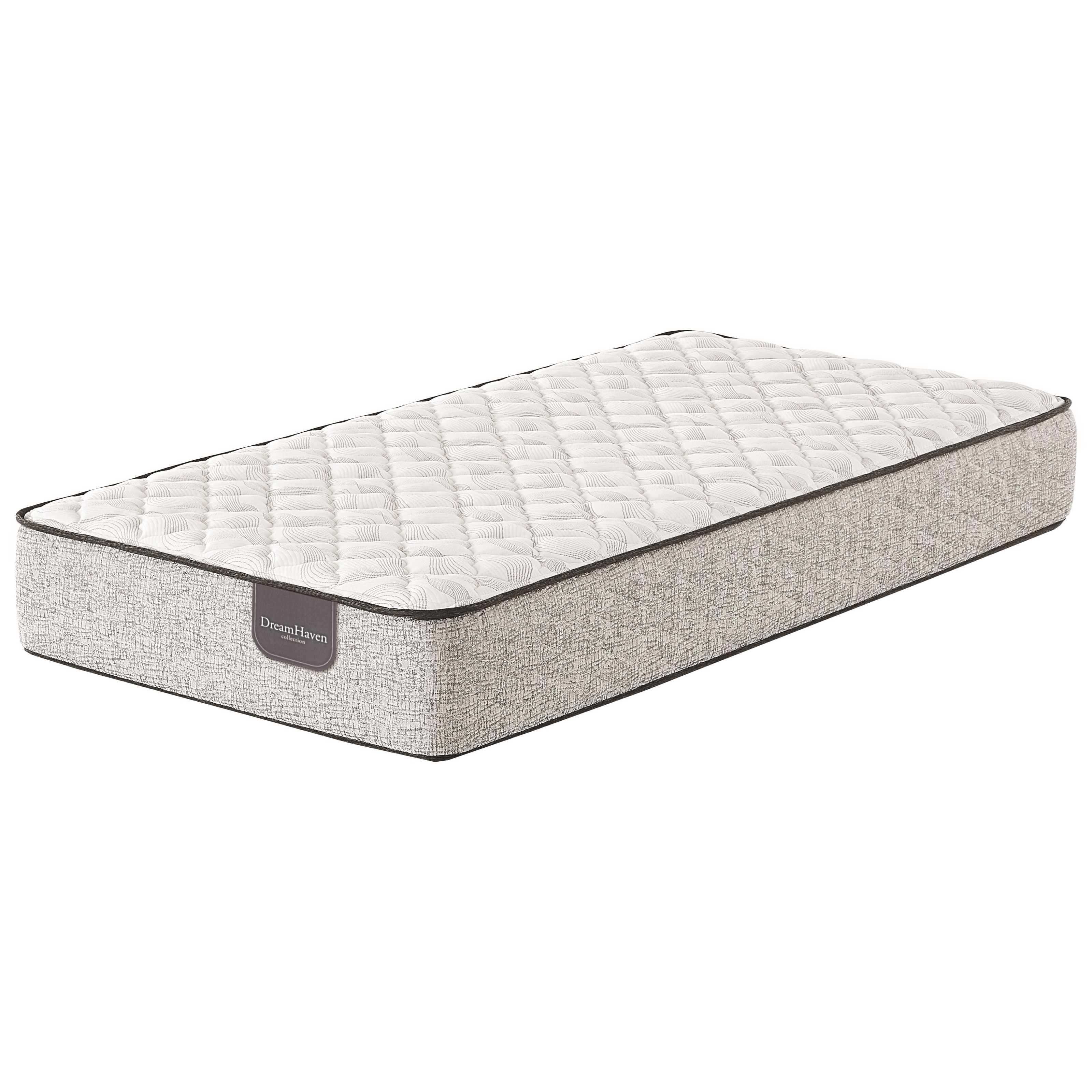 Spyglass Hill CF Queen Innerspring Mattress by Serta at Goffena Furniture & Mattress Center