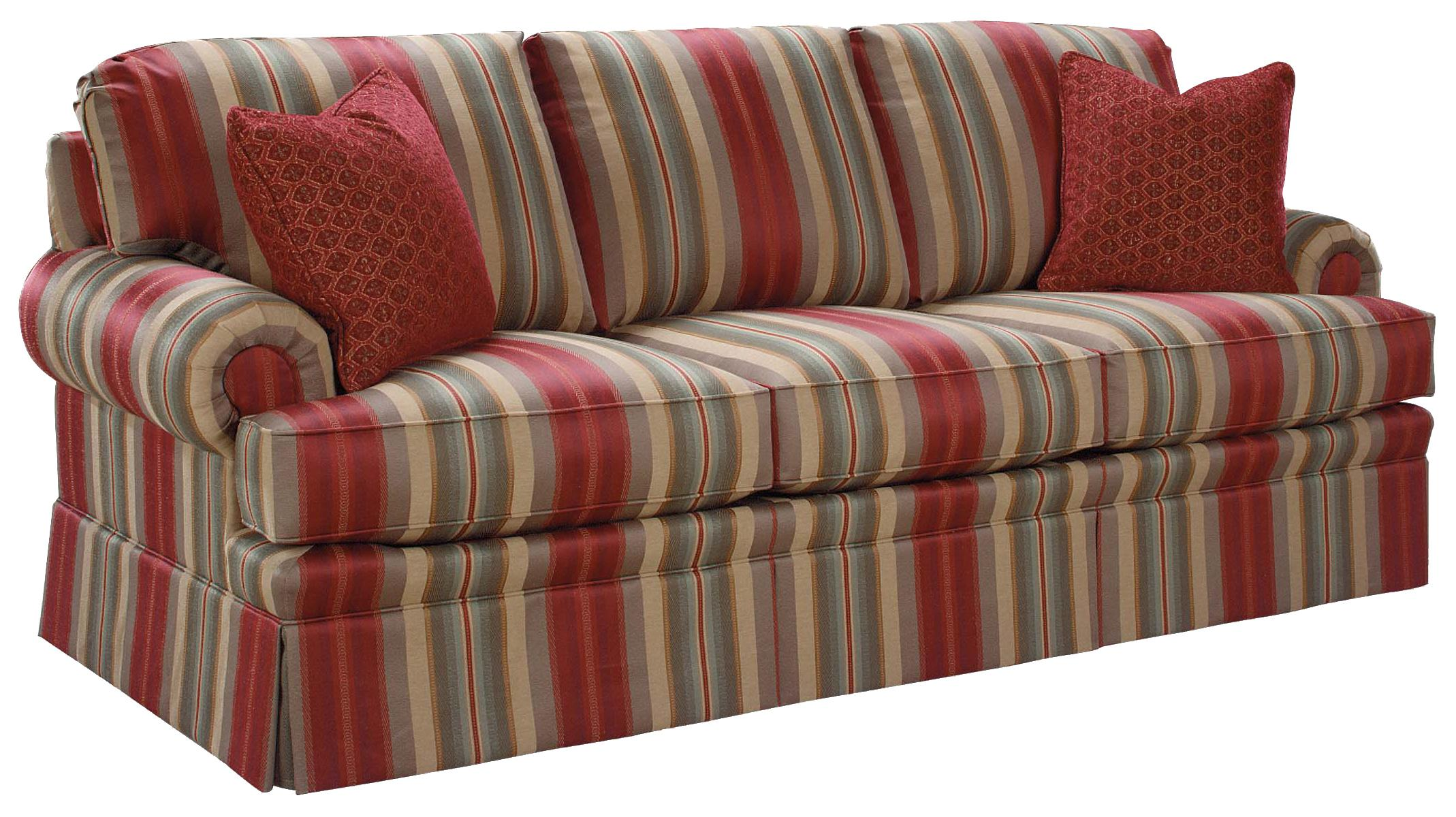 3720 Accent Sofa by Fairfield at Lindy's Furniture Company