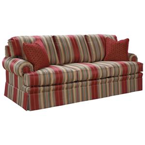 Rolled Arm Accent Sofa