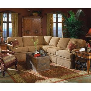 Fairfield 3720 Sectional Sofa