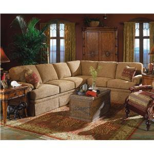 Fairfield 3720 Sectional Sofa