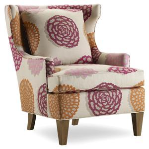 Sam Moore Burke Wing Chair