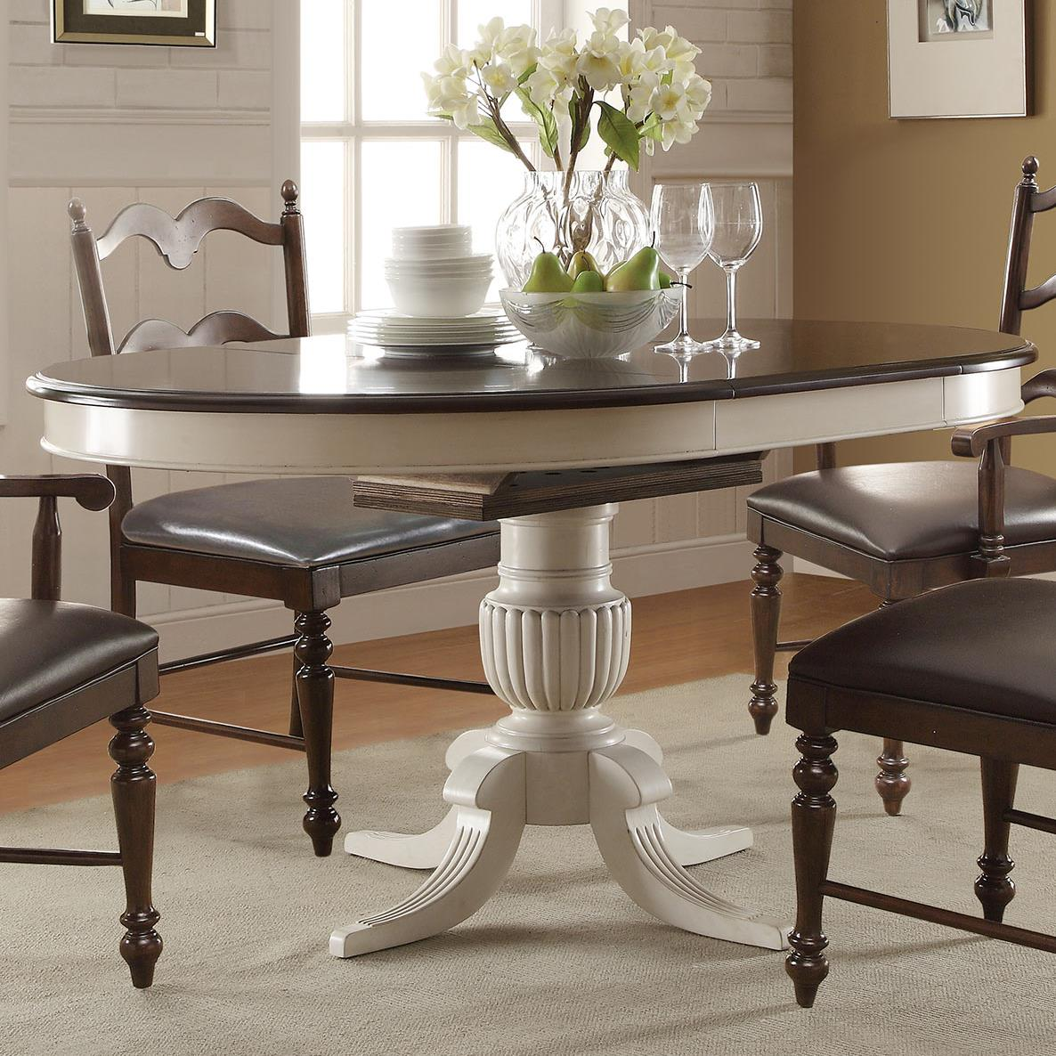 "Cambridge 60"" Pedestal Table by Winners Only at Mueller Furniture"