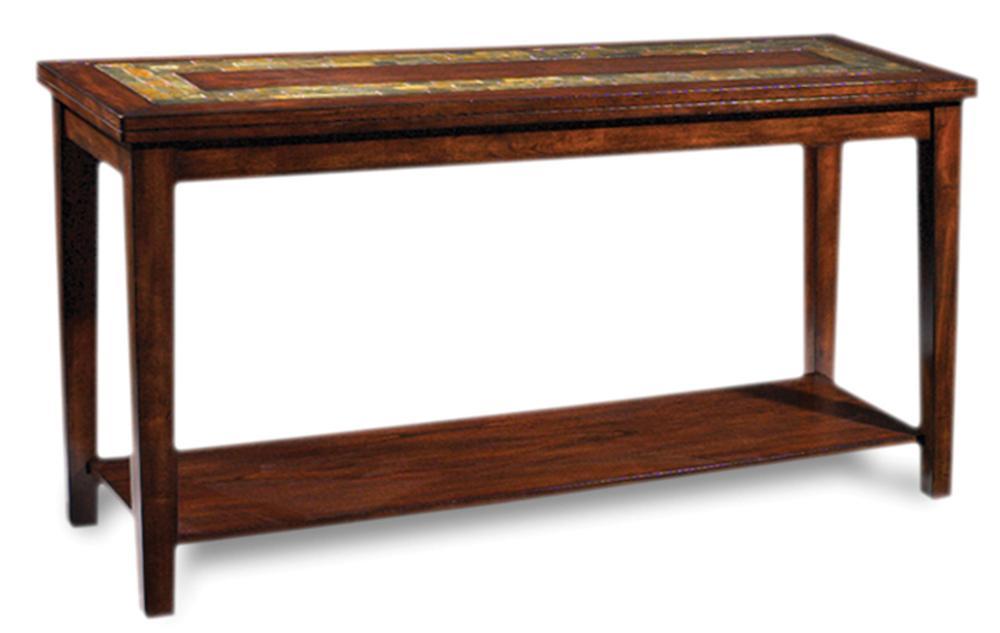 Davenport  Slate Sofa Table by Steve Silver at Walker's Furniture