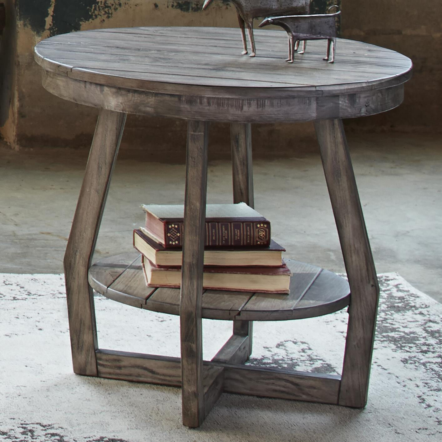 Hayden Way End Table by Libby at Walker's Furniture