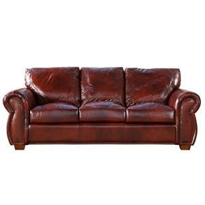 Traditional Nail Head Decor Sofa