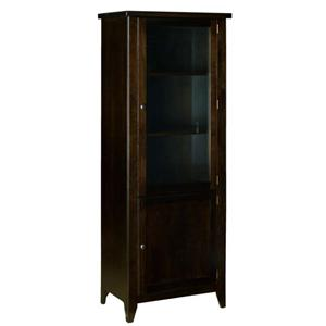 Right Side Entertainment Tower with 2 Shelves