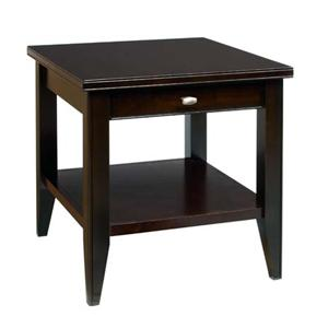 AA Laun Tribeca  End Table with Drawer and Shelf
