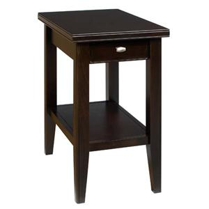 AA Laun Tribeca  Chairside Table with Drawer and Shelf