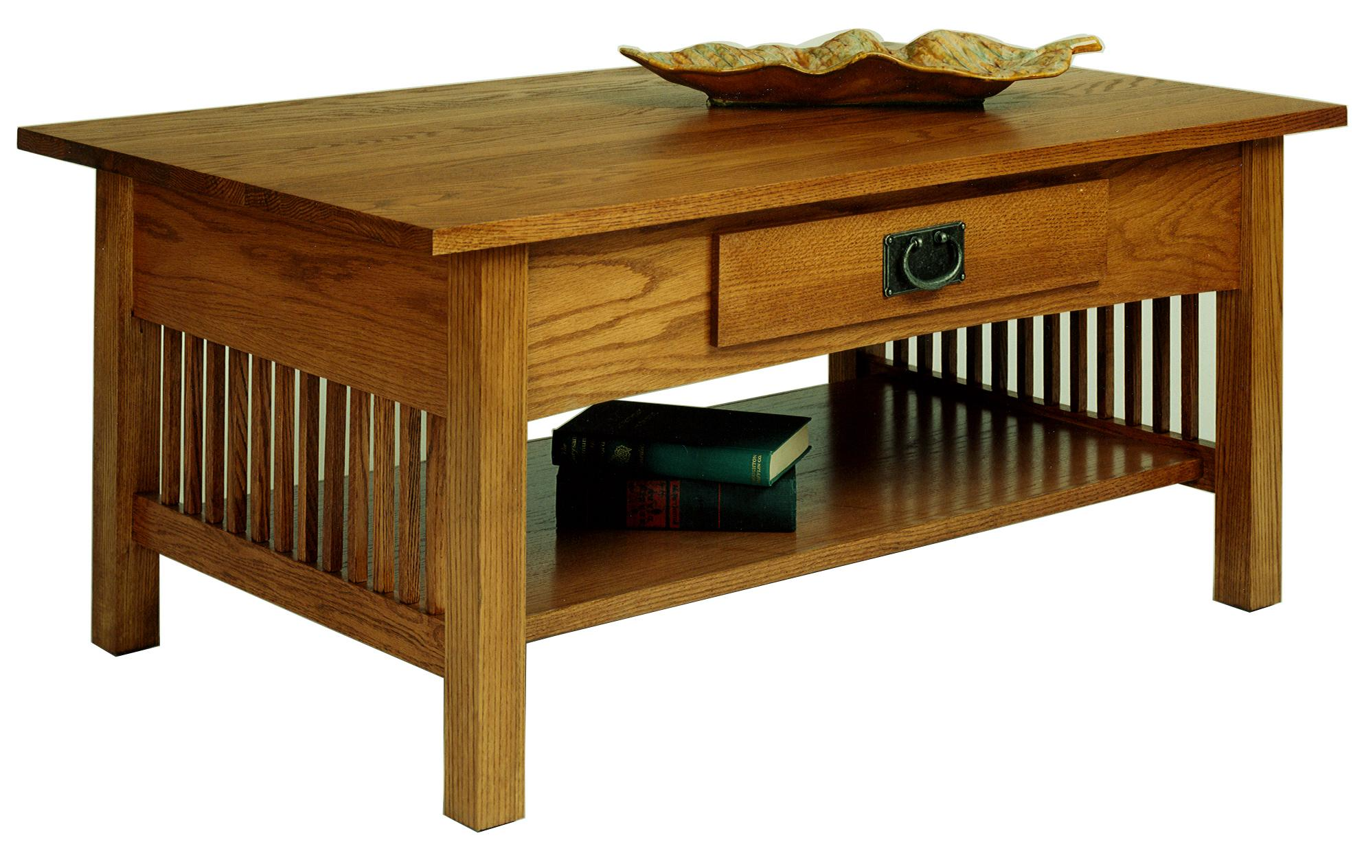 Workbench Classics Cocktail Table with Drawer and Shelf by AA Laun at Mueller Furniture