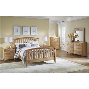AAmerica Alderbrook Queen Bedroom Group
