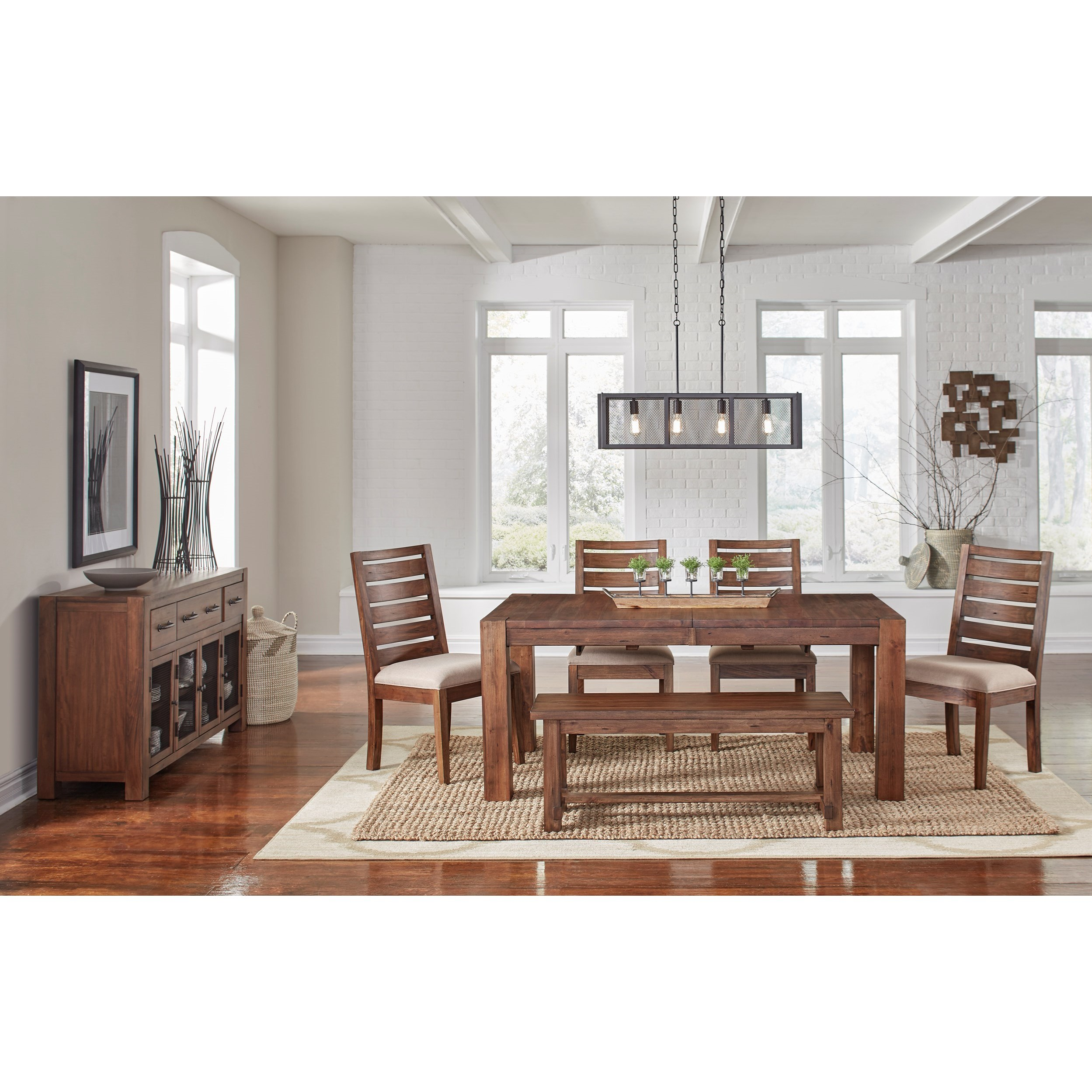 Anacortes Dining Room Group by AAmerica at Furniture and ApplianceMart