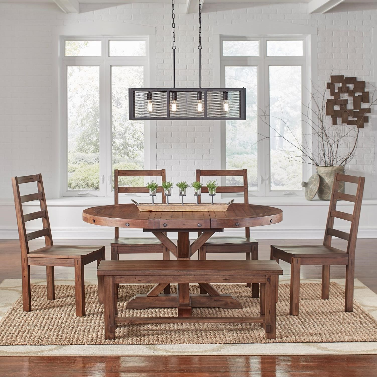 Anacortes 6 Piece Dining Set by AAmerica at SuperStore