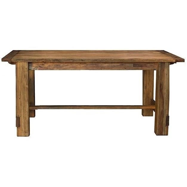 Anacortes Trestle Dining Table by AAmerica at Mueller Furniture