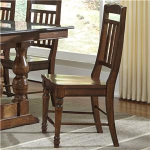 AAmerica Andover Park Slatback Side Chair