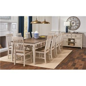 36 Inch Square Table and Chairs
