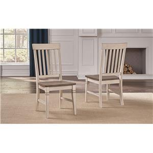 Slatback Side Chairs