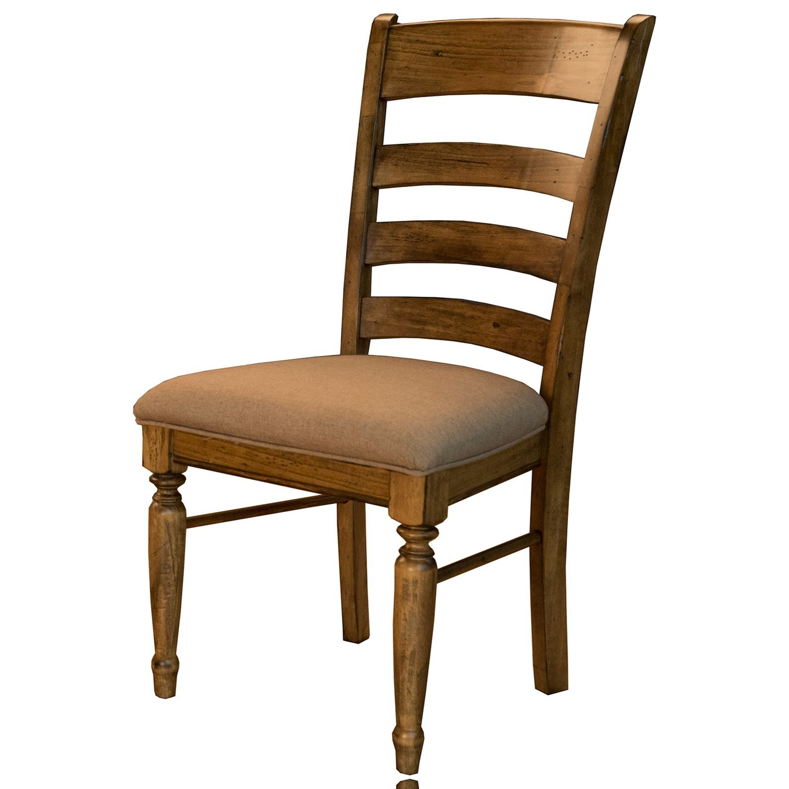 Bennett Ladderback Side Chair by A-A at Walker's Furniture