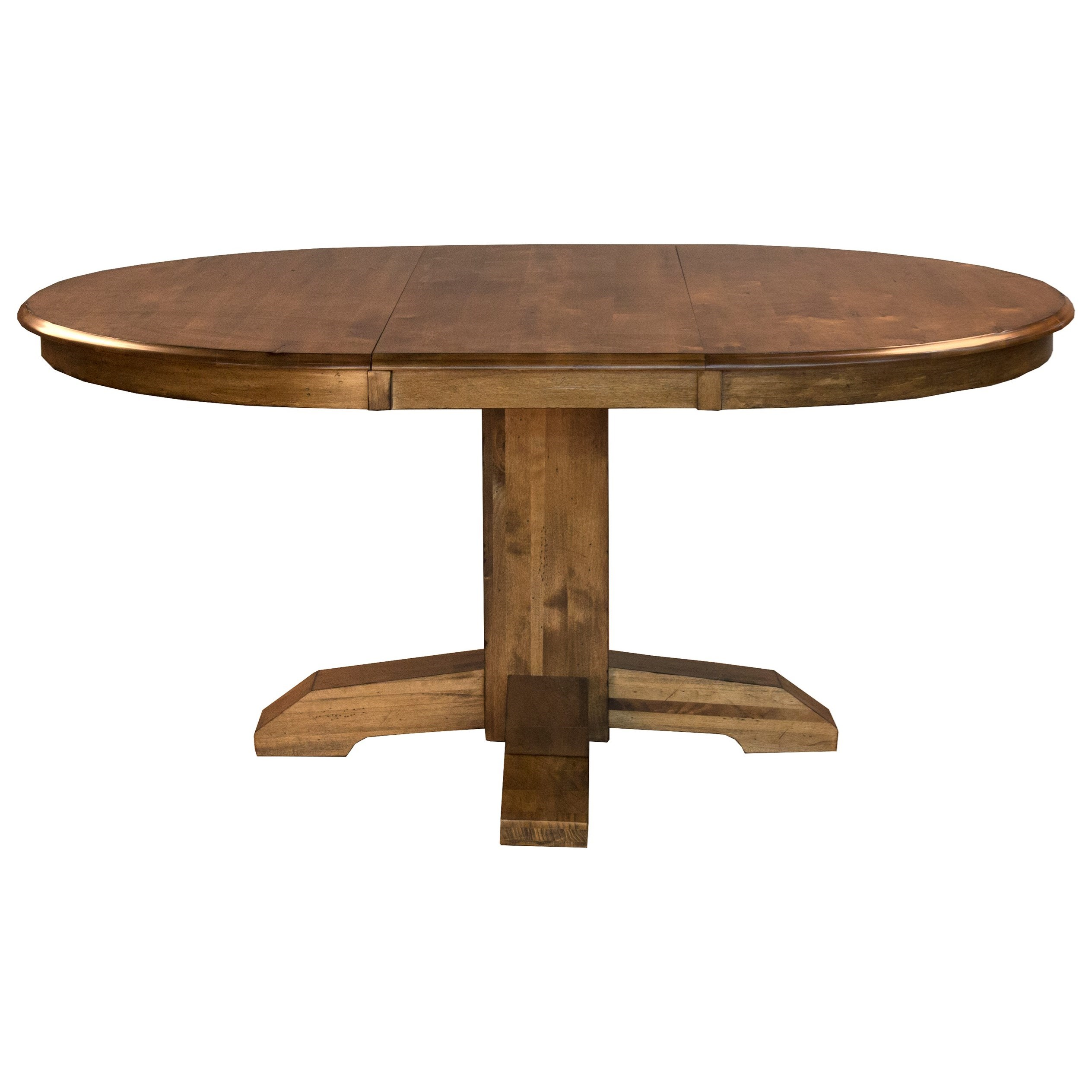 "Bennett 48"" Pedestal Table by A-A at Walker's Furniture"