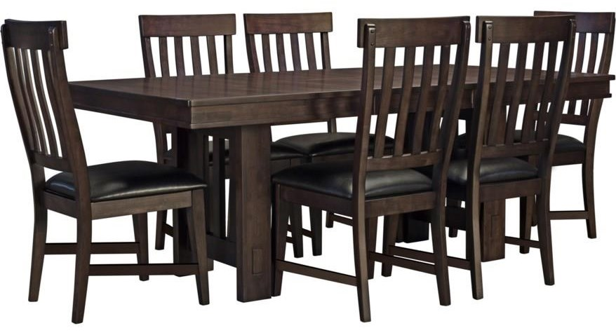 Elston 7-Piece Table and Chair Set by A-A at Walker's Furniture