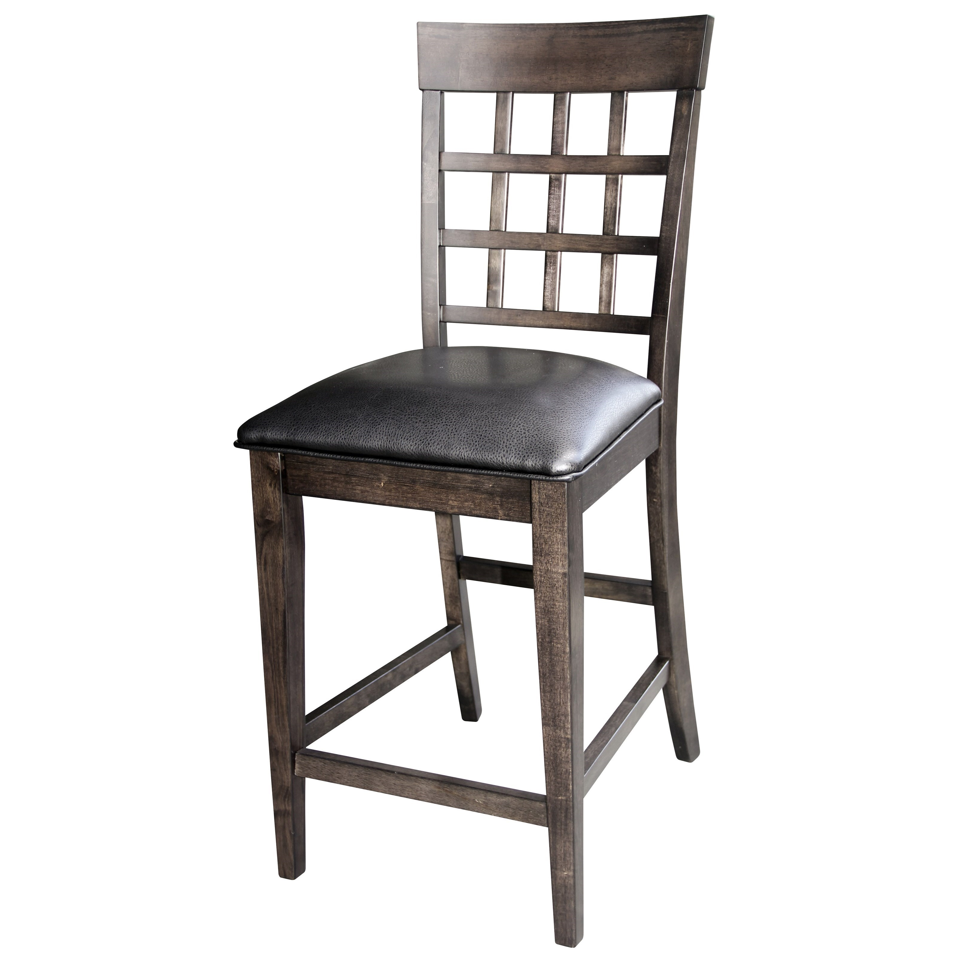 """Bristol Point - WG Gridback 24"""" Barstool  by A-A at Walker's Furniture"""