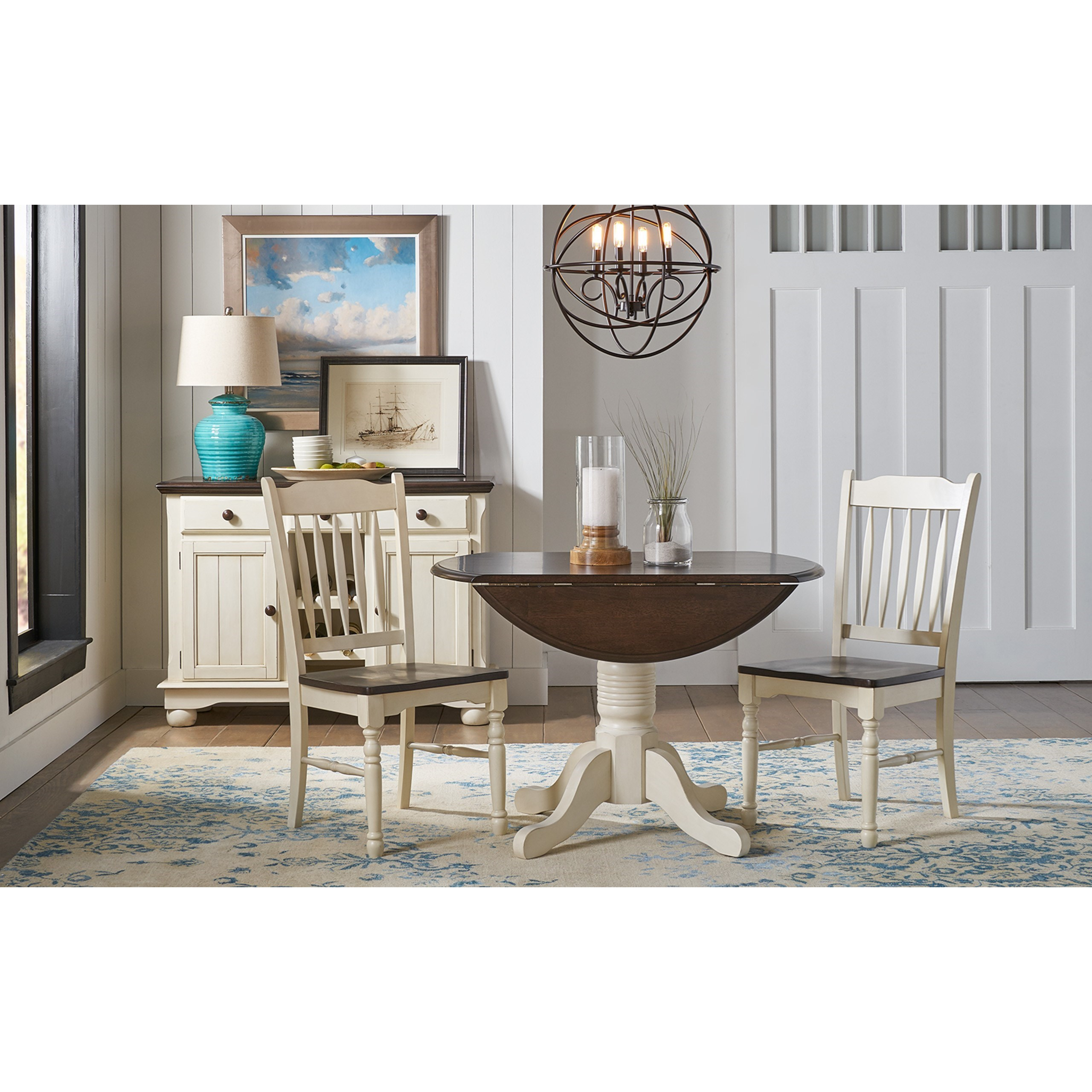 British Isles - CO 3 Piece Dining Set by A-A at Walker's Furniture