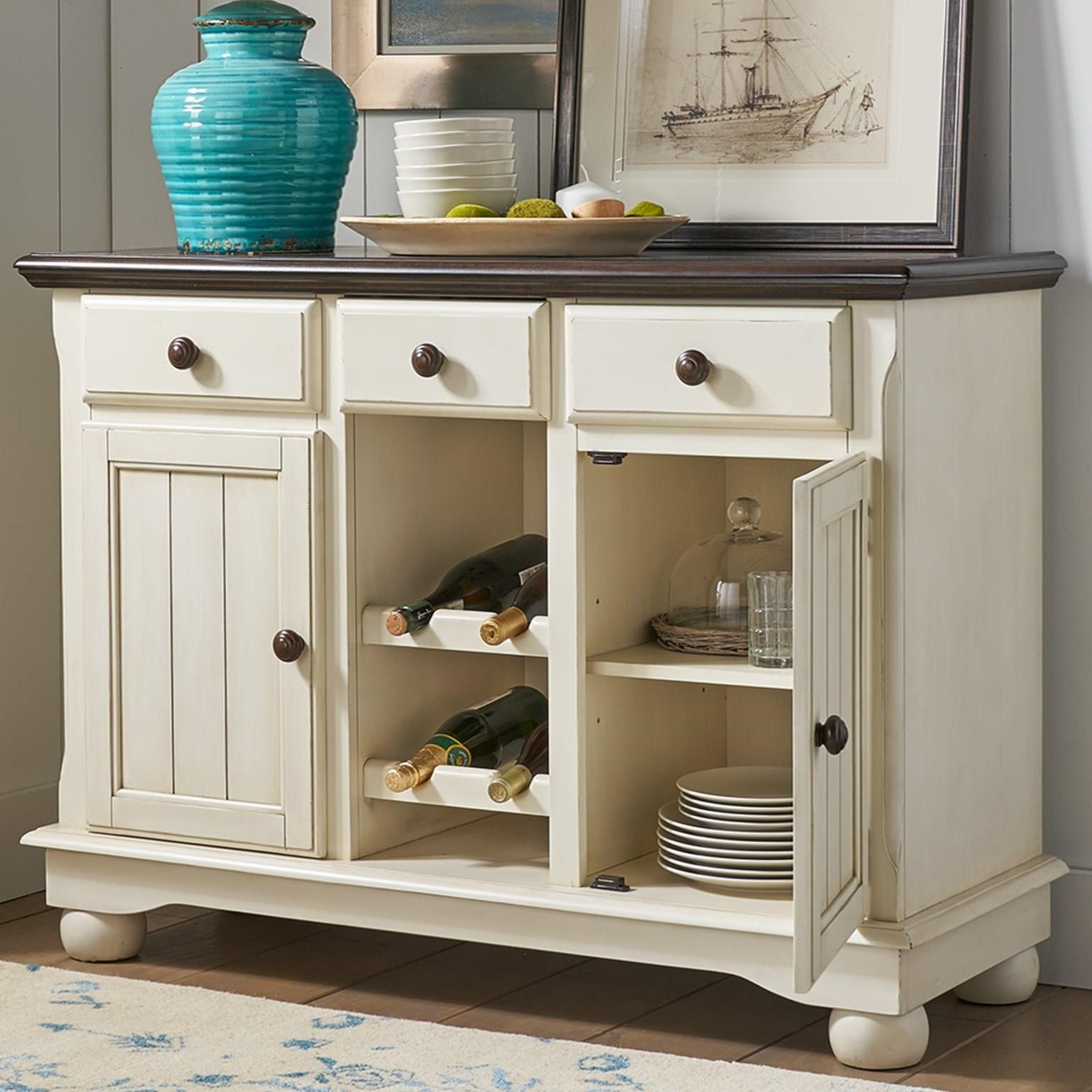 British Isles - CO Dining Room Server by A-A at Walker's Furniture