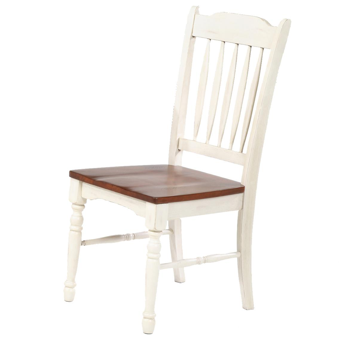 British Isles Slatback Side Chair by A-A at Walker's Furniture