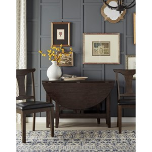 Gate Leg Dining Table with Storage