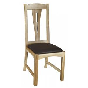 Slat Back Comfort Side Dining Chair