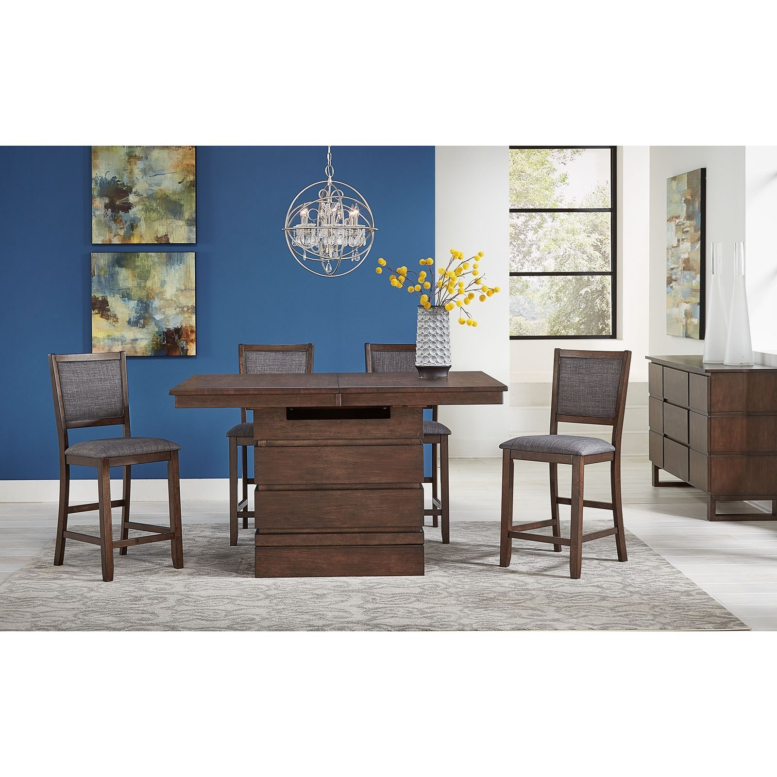 Chesney 5-Piece Dining Set  by AAmerica at Fashion Furniture