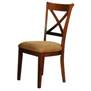 AAmerica De Soto X-Back Side Chair