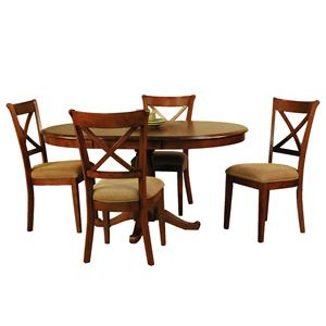 AAmerica De Soto Five Piece Dining Set