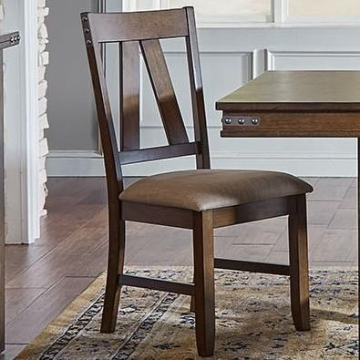 Eastwood Dining Upholstered Side Chair by A-A at Walker's Furniture