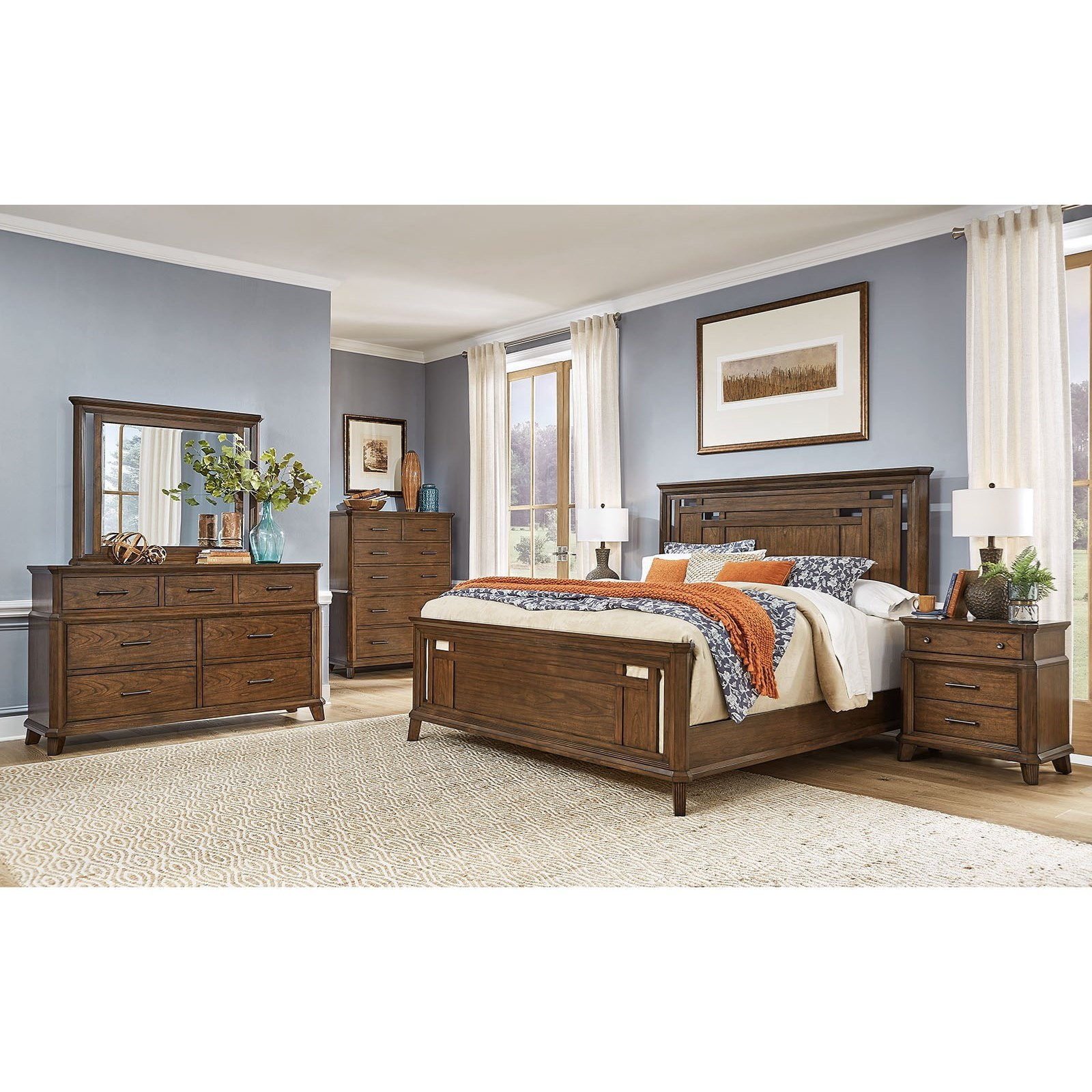 Filson Creek King Bedroom Group  by AAmerica at Furniture and ApplianceMart