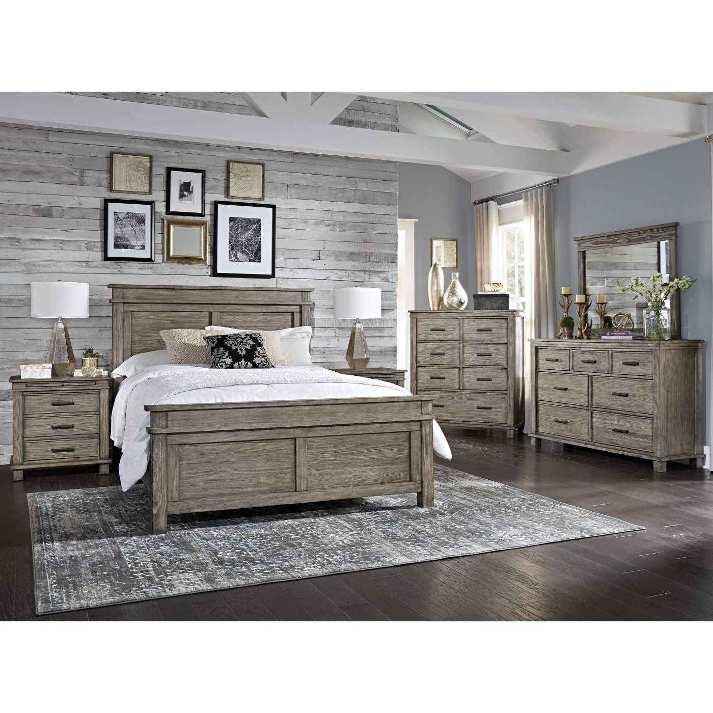 Glacier Point King Bedroom Group by A-A at Walker's Furniture