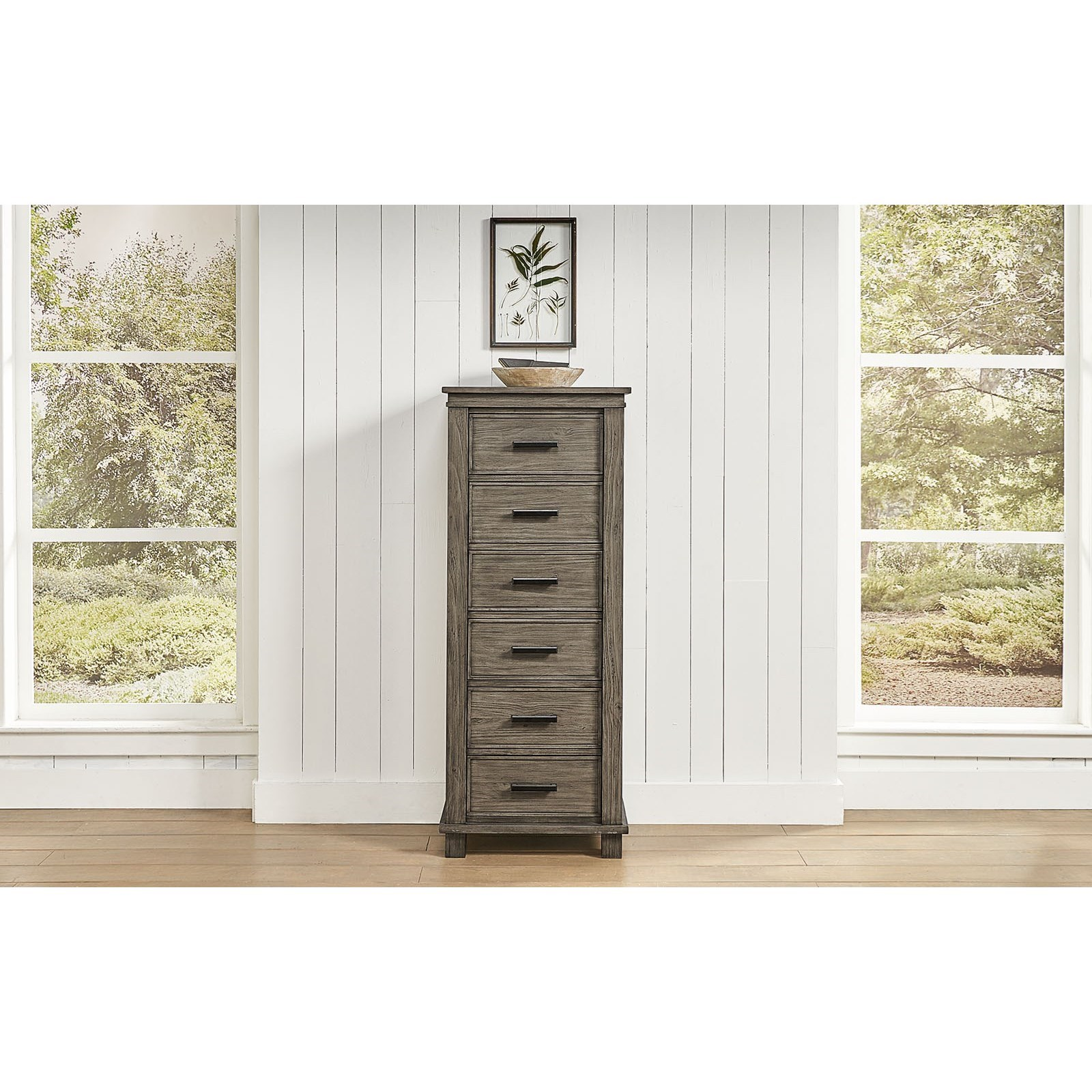 Glacier Point 6-Drawer Lingerie Chest  by A-A at Walker's Furniture