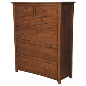 Drawer Chest with Six Drawers