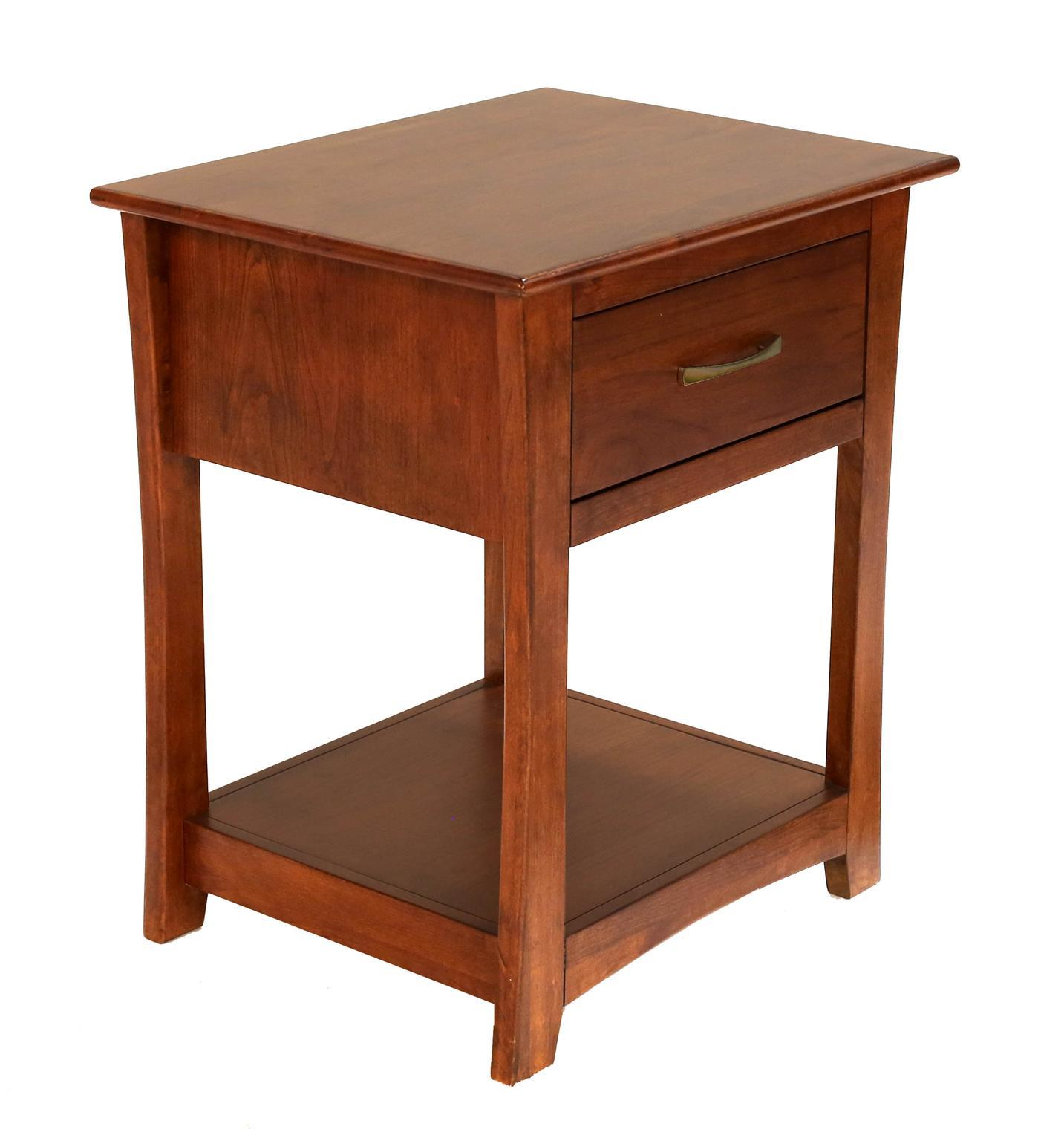 Grant Park Drawer Nightstand by A-A at Walker's Furniture