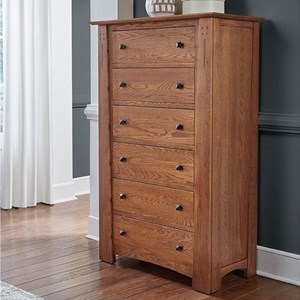 Transitional Solid Wood Chest with Dovetail Joinery