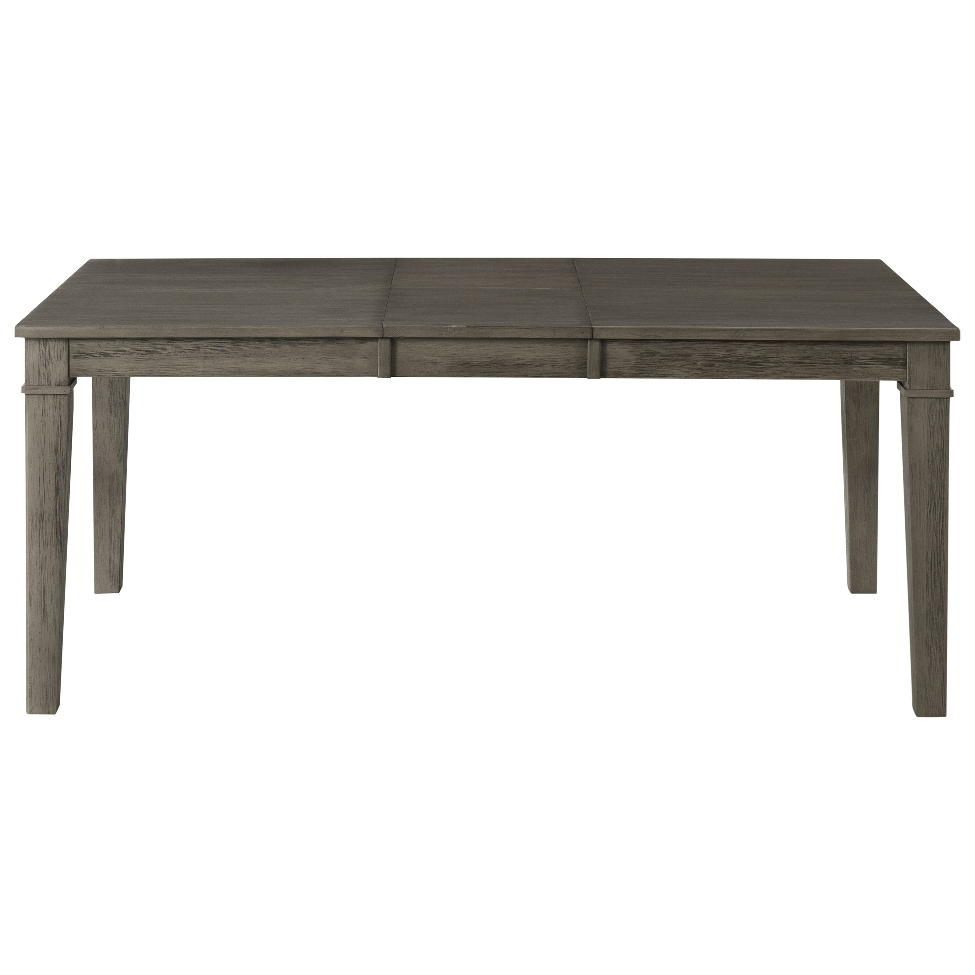 Huron Rectangular Standard Height Leg Table by A-A at Walker's Furniture