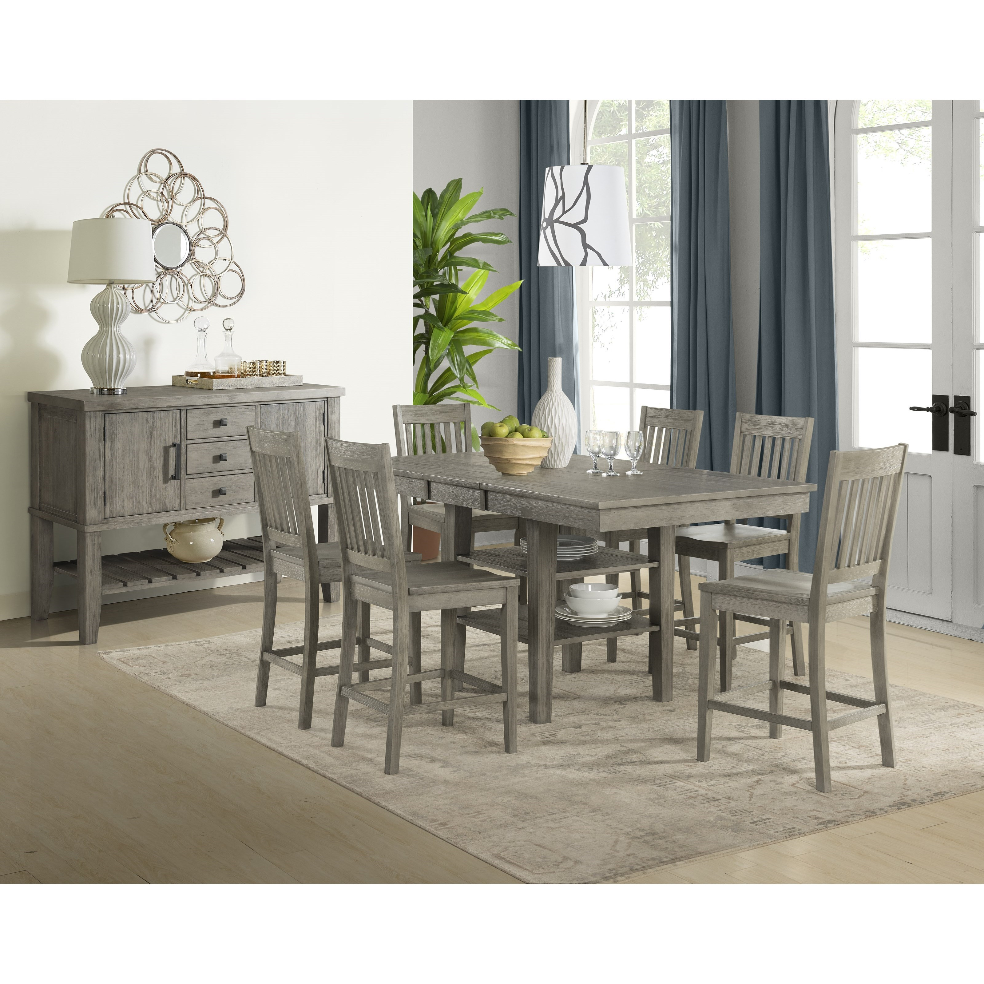 Huron Formal Dining Room Goup by AAmerica at Turk Furniture