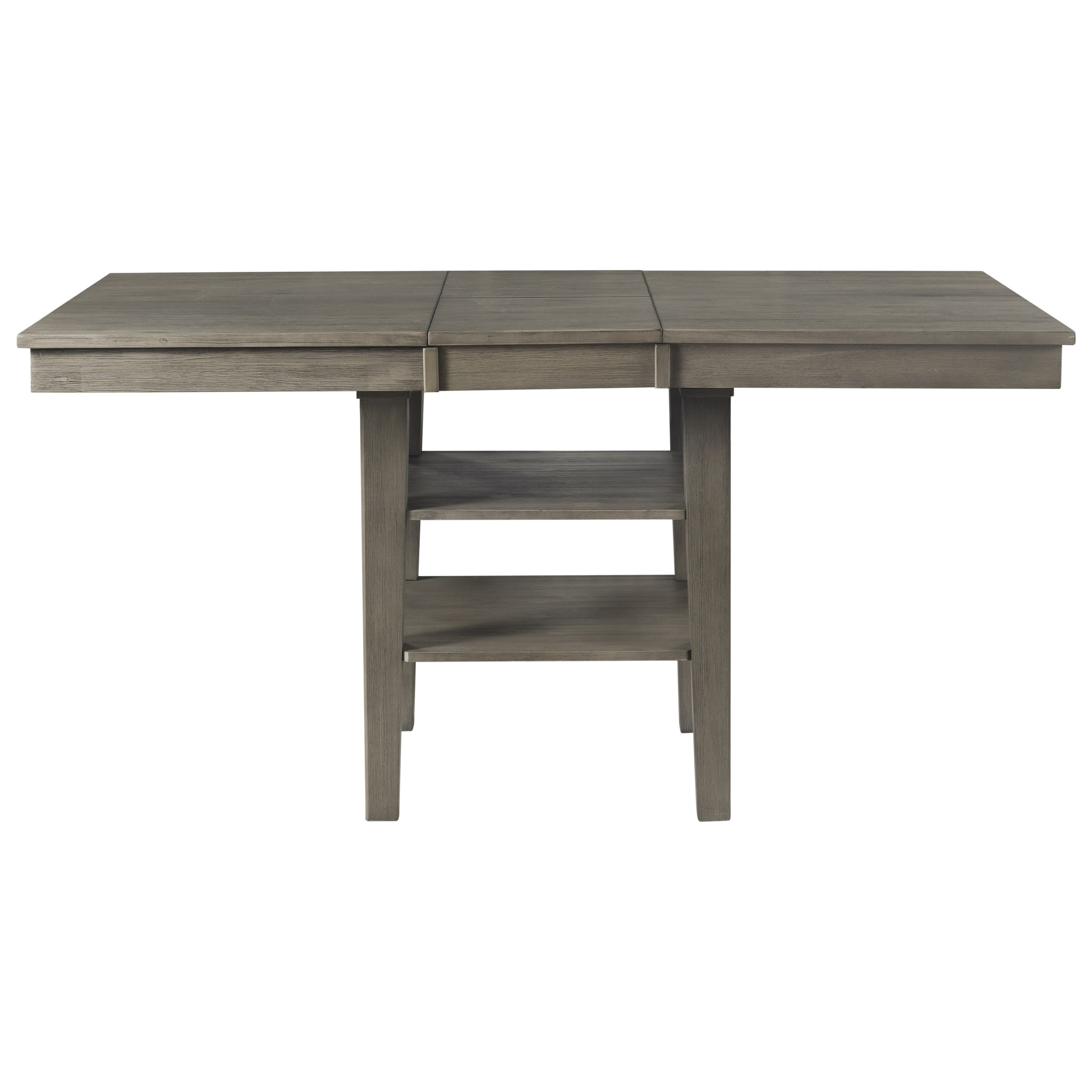 Huron Rectangular Counter Height Pedestal Table by A-A at Walker's Furniture
