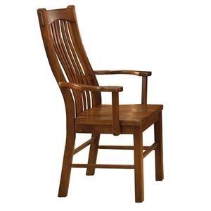 Slatback Arm Chair