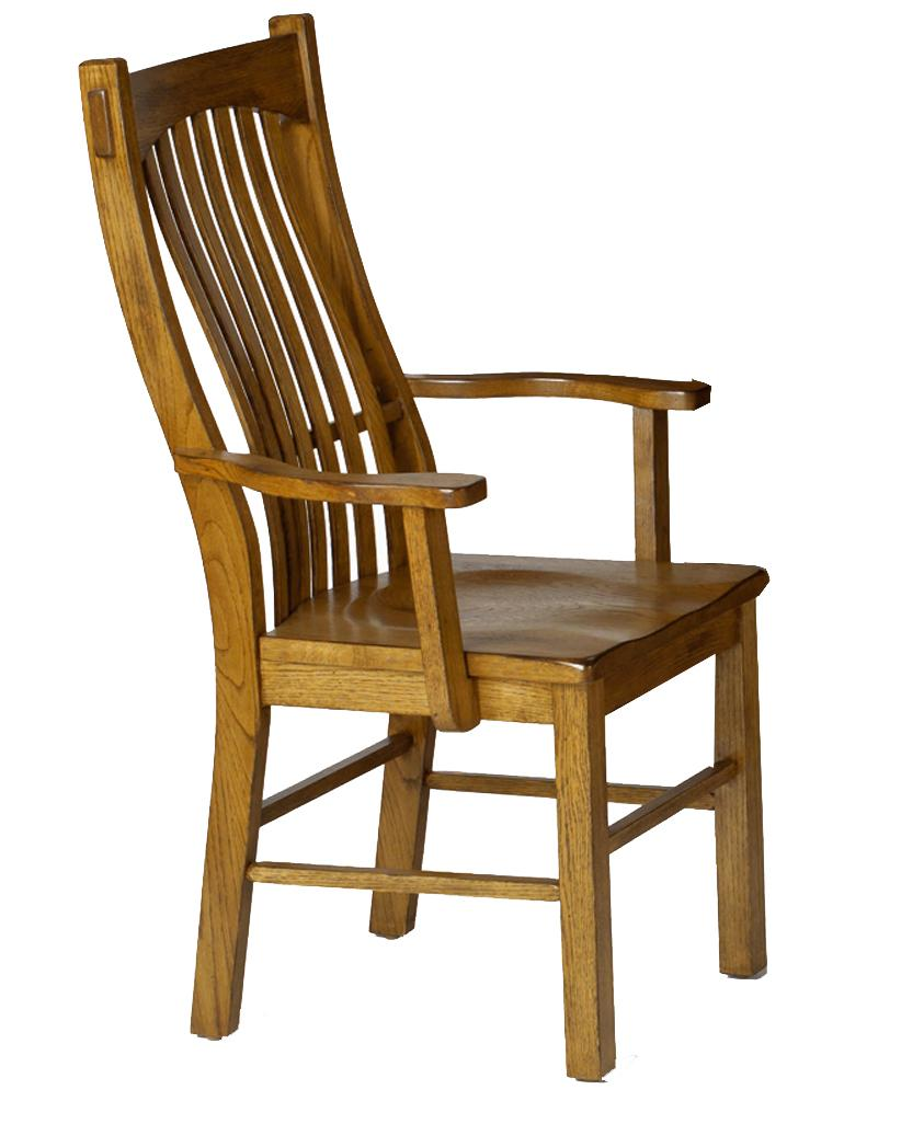 Laurelhurst Arm Chair by AAmerica at Home Furnishings Direct